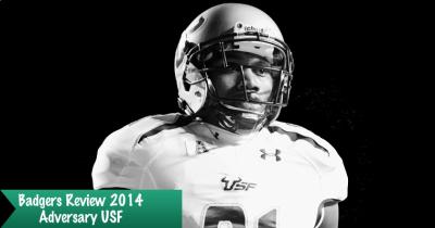 Badgers Review 2014 Adversary USF | SoFloBulls.com