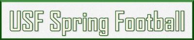 USF Spring Football 2016 Logo by Matthew Manuri