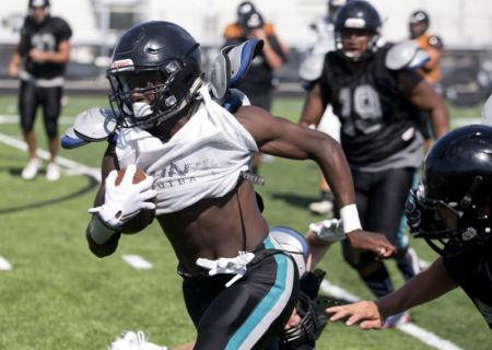 2018 RB DeMarcus Townsend (Naples-Gulf Coast) rushes up field Spring 2016 (801x569)