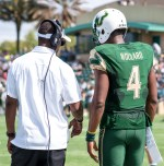 Former USF QB White, Transfer Woulard Named To Top 30 Impact Transfers Asiantii Woulard HD (2640x2673)