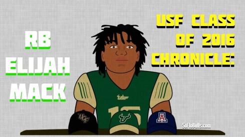 USF Class of 2016 Chronicle: RB Elijah Mack (Charlotte HS) by Matthew Manuri SoFloBulls.com