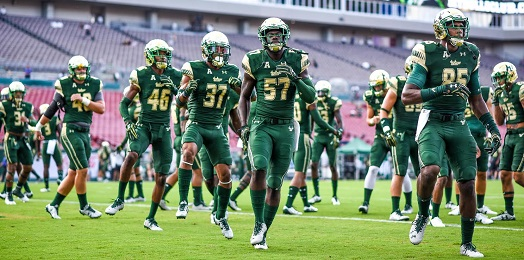 #BAYMADE-Inside USF Football 2016 — Episode 2 (Photo Credit: Dennis Akers)