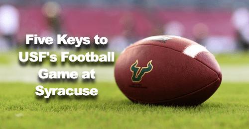 #BeatCuse - USF vs. Syracuse Five Keys to USF's Game at Syracuse by Matt Staton   SoFloBulls.com (500x260)