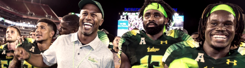 USF Coach Willie Taggart Joins Rick and Tom on 620WDAE (09.13.2016) (960x260)