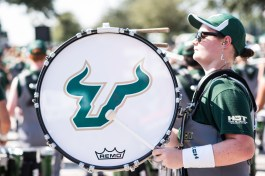 FSU vs USF 2016 14 - White Hot Band Drummers 5 by Dennis Akers (4016x6016)