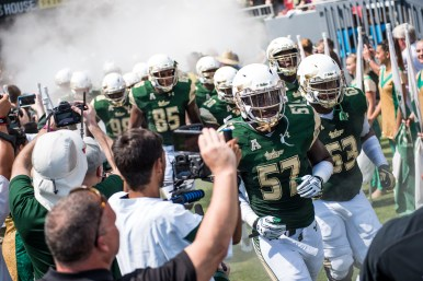 FSU vs USF 2016 50 - Nigel Harris Michael Smith Elkanah 'Kano' Dillon Pre-game by Dennis Akers (6016x4016)