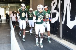 FSU vs USF 2016 80 - Jaymon Thomas Cecil Cherry Mazzi Wilkins Chris Oladokun exiting the tunnel by Dennis Akers (3345x2230)