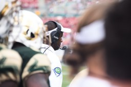 FSU vs USF 2016 95 - Head Coach Willie Taggart by Dennis Akers (4512x3008)
