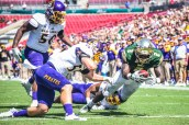 RB D'Ernest Johnson   ECU vs USF 2016 Game Photos by Dennis Akers