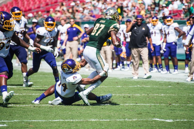 79 USF vs ECU 2016 - USF WR Rodney Adams (6016x4016)