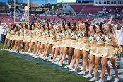 18 - Navy vs. USF 2016 - USF Cheerleaders by Dennis Akers | SoFloBulls.com (5615x3748)