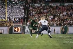 70 - Navy vs. USF 2016 - USF RB Marlon Mack by Dennis Akers | SoFloBulls.com (4368x2916)
