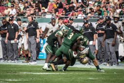 70 - USF vs. UCF 2016 - USF DB Deatrick Nichols Auggie Sanchez Nate Godwin #WarOnI4 by Dennis Akers | SoFloBulls.com (3962x2645)