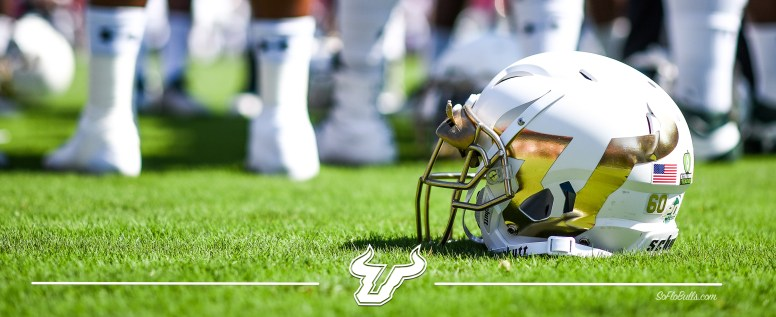2016 USF Bulls Football New White Helmets vs FSU Facebook Cover Image by Matthew Manuri | SoFloBulls.com (3568x1462)