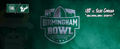 #BeatSC South Carolina vs. USF Football Birmingham Bowl 2016 Facebook Cover Photo by Matthew Manuri | SoFloBulls.com (3568x1462)