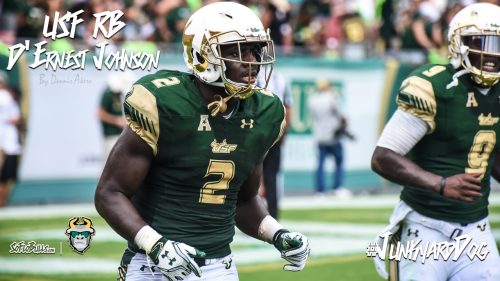 SoFloBulls.com 2016 USF Football Highlights Series - #JunkyardDog RB D'Ernest Johnson YouTube Video Cover Image II by Dennis Akers