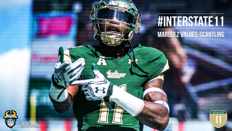 🎥 SoFloBulls.com 2016 USF Football Highlights Series: #Interstate11 WR Marquez Valdes-Scantling by Matthew Manuri | SoFloBulls.com
