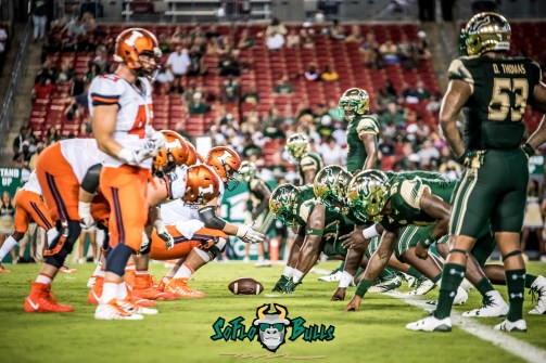 113 - Illinois vs. USF 2017 - Illinois OL vs. USF DL by Dennis Akers | SoFloBulls.com (5876x3923)