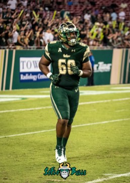 128 - Temple vs. USF 2017 - USF DT Bruce Hector by Dennis Akers   SoFloBulls.com (2303x3224)