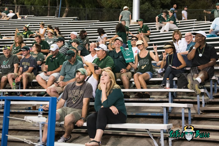 132 - USF vs. San Jose State 2017 - USF Fans in Crowd by Dennis Akers | SoFloBulls.com (5172x3453)