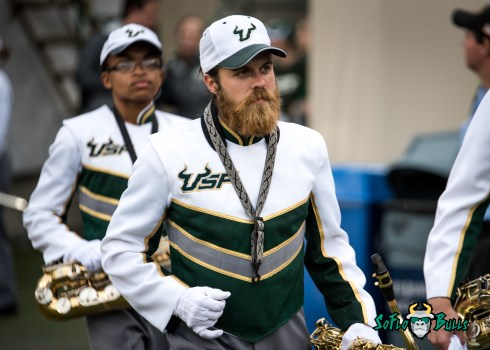 49 - Stony Brook vs. USF 2017 - USF Band by Dennis Akers | SoFloBulls.com (4807x3434)