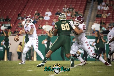 56 - Temple vs. USF 2017 - USF DT Bruce Hector by Dennis Akers | SoFloBulls.com (4209x2810)