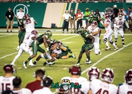 81 - Temple vs. USF 2017 - USF S Tajee Fullwood Auggie Sanchez Mike Love by Dennis Akers | SoFloBulls.com (3946x2819)