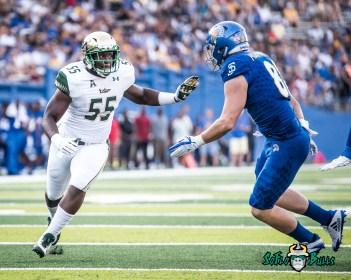 96 - USF vs. San Jose State 2017 - USF LB Josh Black by Dennis Akers | SoFloBulls.com (3834x3067)