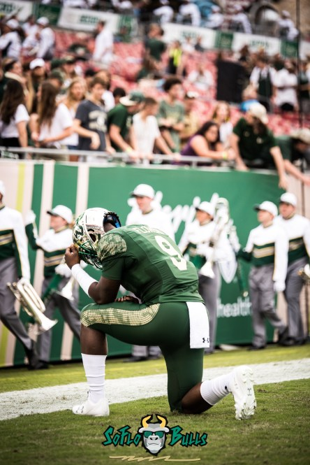 10 - USF vs. Houston 2017 - USF QB Quinton Flowers by Dennis Akers | SoFloBulls.com (4016x6016)