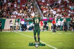 140 - USF vs Cinci 2017 - USF DB Ronnie Hoggins (6016x4016)