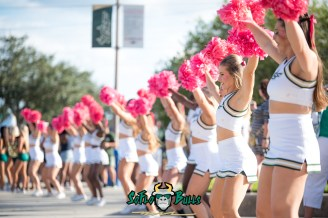 3 - Cincinnati vs. USF 2017 - USF Cheerleaders by Dennis Akers | SoFloBulls.com (6016x4016)