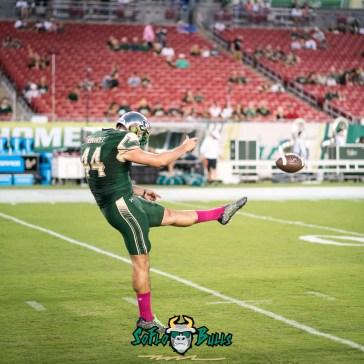 50 - Cincinnati vs. USF 2017 - USF PK Jonathan Hernandez by Dennis Akers | SoFloBulls.com (3995x3995)