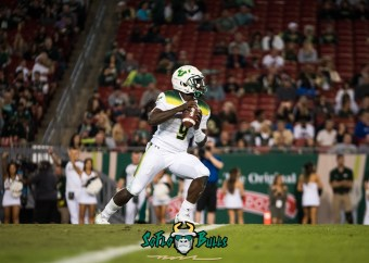 102 - Tulsa vs. USF 2017 - USF QB Quinton Flowers by Dennis Akers | SoFloBulls.com (3919x2799)