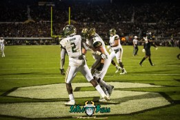 104 - USF vs. UCF 2017 - USF RB D'Ernest Johnson Billy Atterbury by Dennis Akers | SoFloBulls.com (6016x4016)