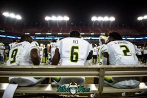 126 - Tulsa vs. USF 2017 - USF RB Darius Tice Quinton Flowers D'Ernest Johnson by Dennis Akers | SoFloBulls.com (5998x4004)
