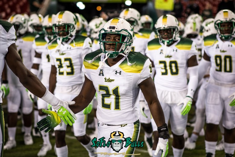 🎥 SoFloBulls.com 2017 USF Football Highlights Series: #21Reasons DB/LB Khalid McGee by Dennis Akers (5501x3672)