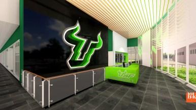USF Football Center Rendering Front Lobby Image - SoFloBulls.com (3840x2160)