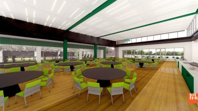 USF Football Center Rendering Multi-Purpose Room Image - SoFloBulls.com (3840x2160)