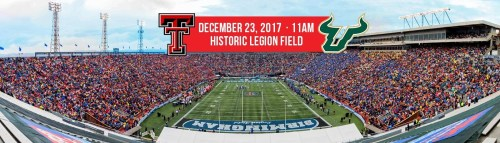 2017 Birmingham Bowl Matchup Image - Texas Tech vs. USF (1400x400)