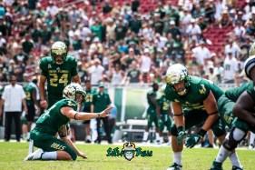 113 - Georgia Tech vs. USF 2018 - USF PK Coby Weiss Kyle Trina by Dennis Akers | SoFloBulls.com (6016x4016)