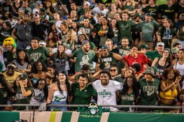 133 - Elon vs. USF 2018 - USF Fans in Crowd at Raymond James Stadium by Dennis Akers | SoFloBulls.com (5958x3977)