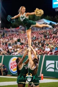 146 - Elon vs. USF 2018 - USF Cheerleaders by Dennis Akers | SoFloBulls.com (2774x4155)