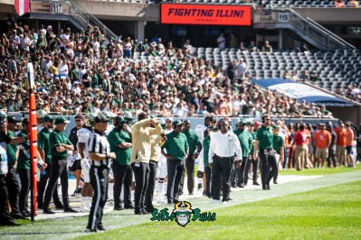 19 - USF vs. Illinois 2018 - USF Head Coach Charlie Strong by Dennis Akers | SoFloBulls.com (4897x3269)