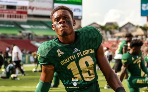 199 - Elon vs. USF 2018 - USF S Jaymon Thomas by Will Turner | SoFloBulls.com (4753x2963)