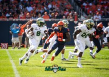 28 - USF vs. Illinois 2018 - USF WR Tyre McCants Trevon Sands by Dennis Akers | SoFloBulls.com (4143x2959)