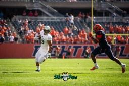 33 - USF vs. Illinois 2018 - USF TE Mitchell Wilcox by Dennis Akers | SoFloBulls.com (4368x2916)