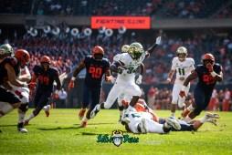 34 - USF vs. Illinois 2018 - USF WR Randall St. Felix by Dennis Akers   SoFloBulls.com (4768x3183)