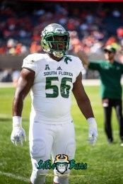 40 - USF vs. Illinois 2018 - USF DT Juwuan Brown by Dennis Akers | SoFloBulls.com (4016x6016)