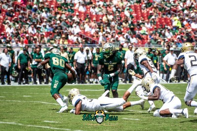 45 - Georgia Tech vs. USF 2018 - USF WR Terrence Horne by Dennis Akers | SoFloBulls.com (5092x3399)