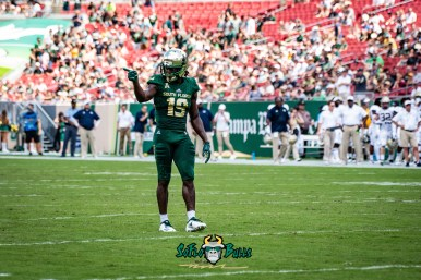 59 - Georgia Tech vs. USF 2018 - USF DB Ronnie Hoggins by Dennis Akers | SoFloBulls.com (5121x3419)